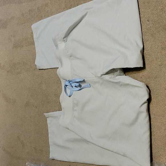 Figs Space Grey Medium Petite Linvingston Pants